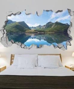 Lake Mountains Wall Art