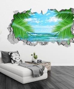 Leaf Sea 3D Wall