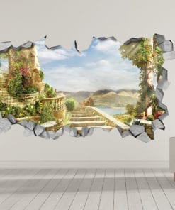 Mystical Stairs 3D Wallpaper