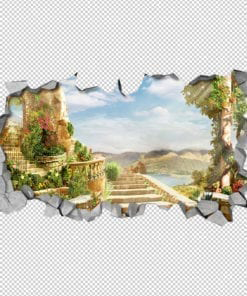 Mystical Stairs 3D Wallpaper Detail