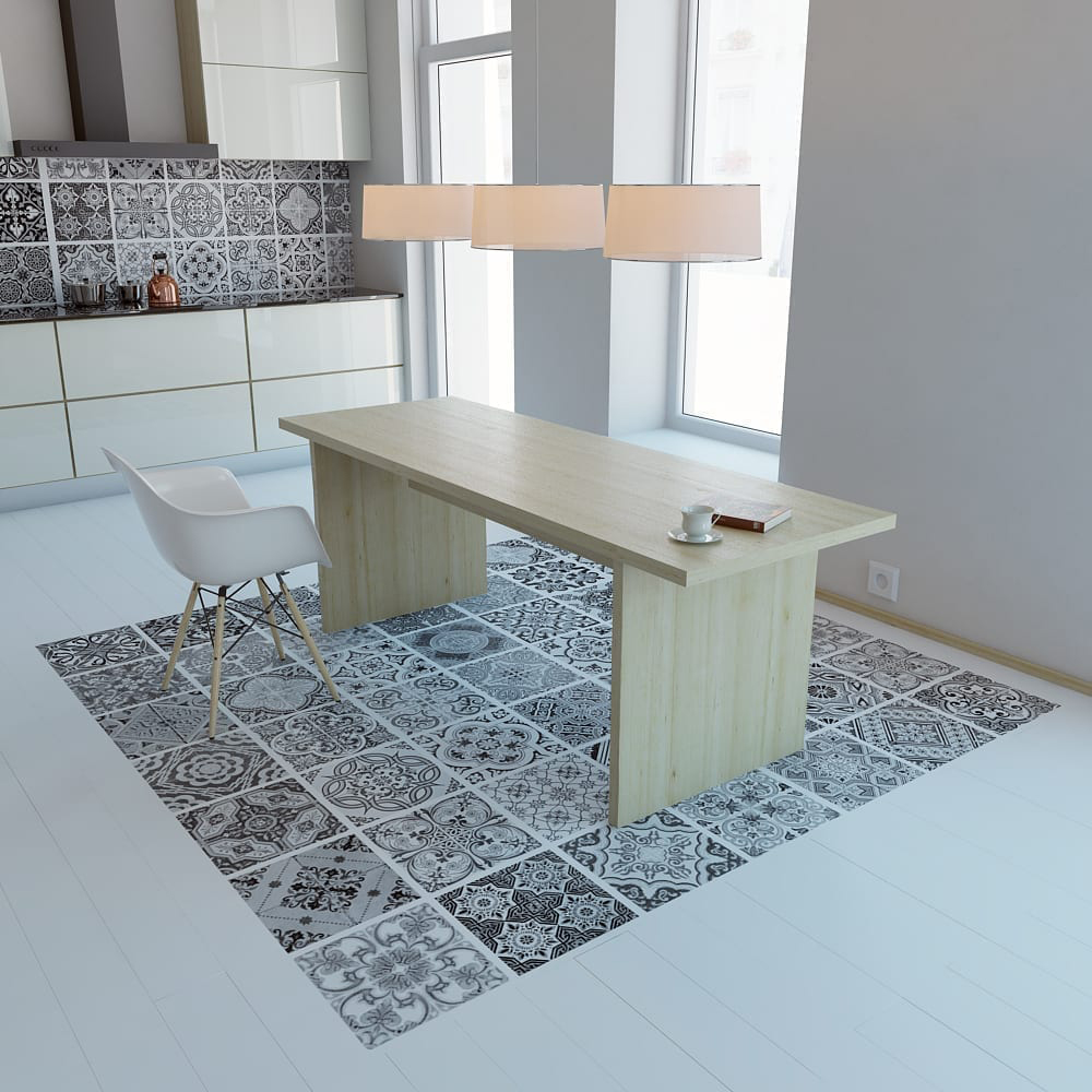 Portuguese Floor Tiles Decals