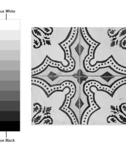 Portuguese Tiles BW - Color Spectrum