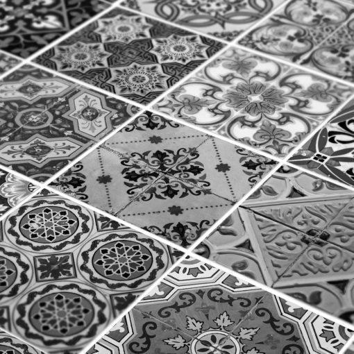 Portuguese Tiles BW - Detail
