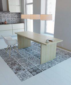 Portuguese Tiles BW - Floor