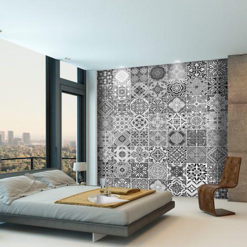 Portuguese Tiles BW - Wall