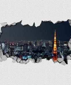 Tokyo 3D Wallpaper 2