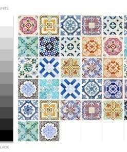 Traditional Spanish Tiles - Color Spectrum