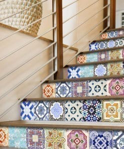 Traditional Spanish Tiles - Stairs