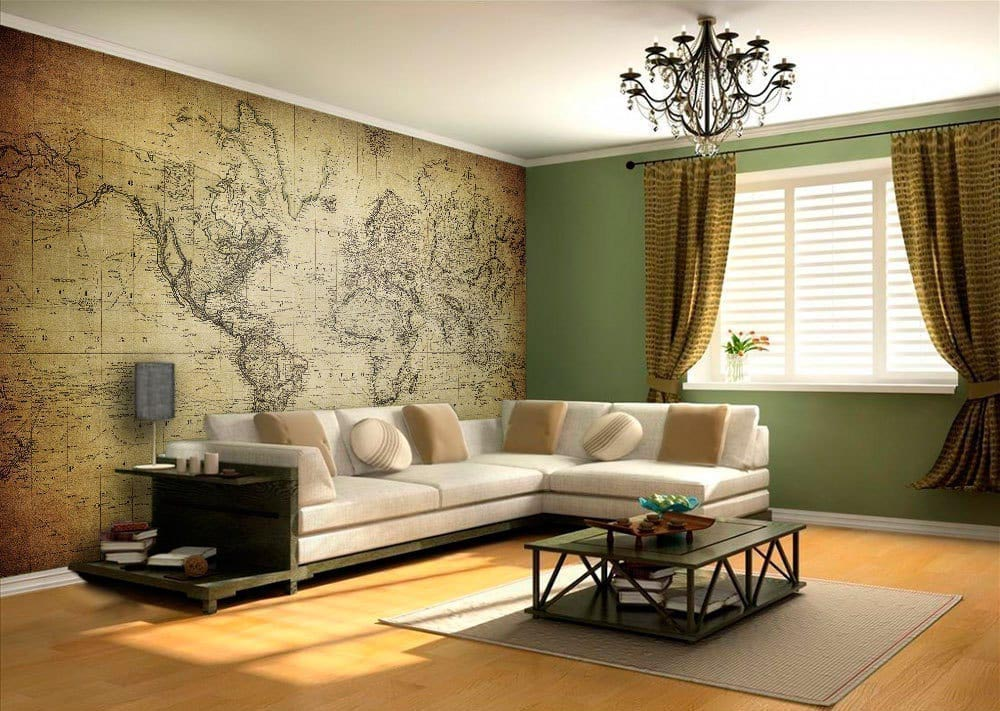 World map stickers world map vintage wall art gumiabroncs Images