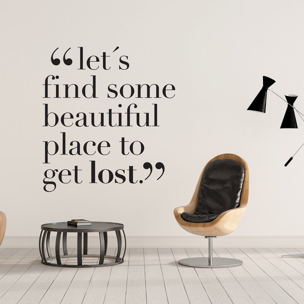 Lets Get Lost Moonwallstickers Com