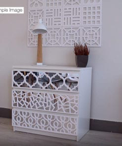 Trellis With Mirror Panel - Detail 1