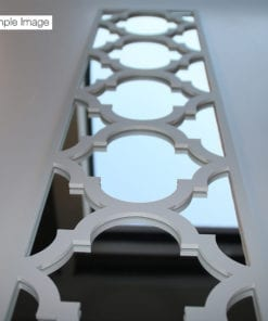 Trellis With Mirror Panel - Detail