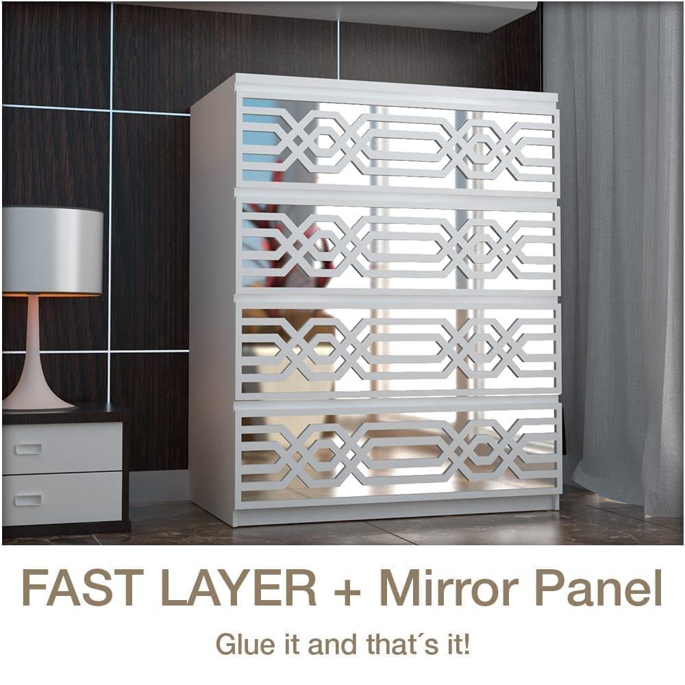 aztec avec miroir panneau. Black Bedroom Furniture Sets. Home Design Ideas