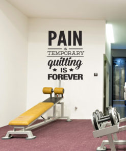 Gym wall decals
