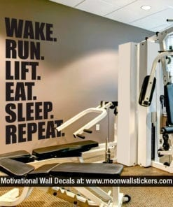 Gym Wall Sticker