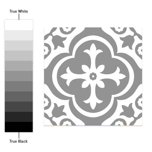 Moroccan Floor Stickers - Color Spectrum