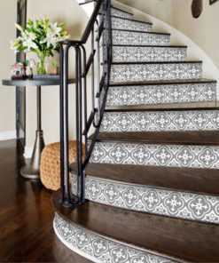 Moroccan Floor Stickers - Stairs