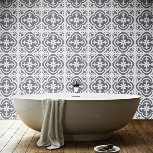 Moroccan Floor Stickers - Wall