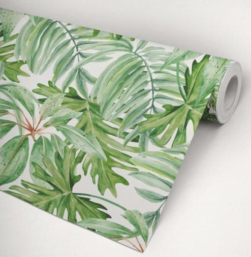 Banana Leaf Wallpaper Roll