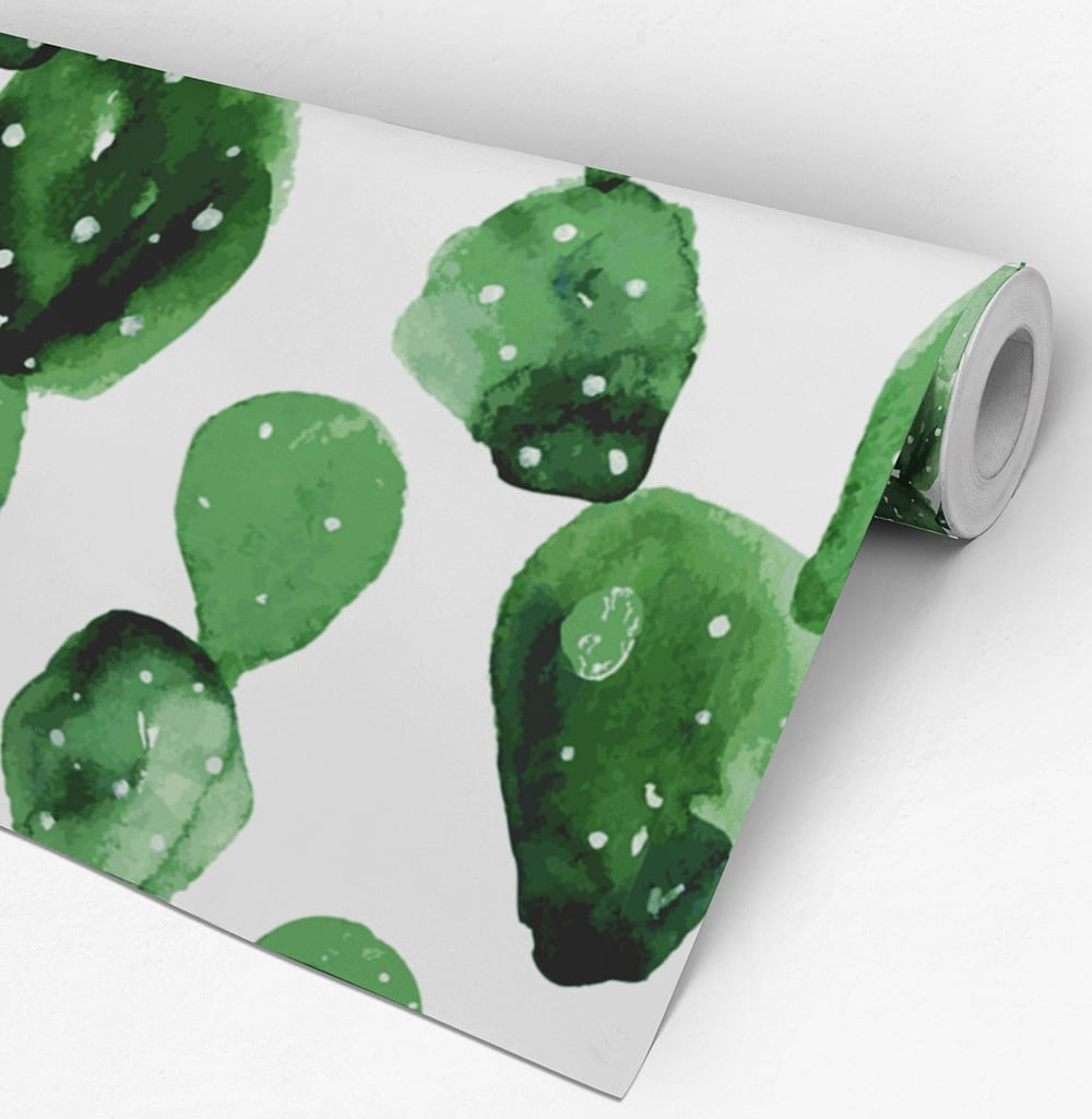 Cactus removable wallpaper for Wallpaper roll