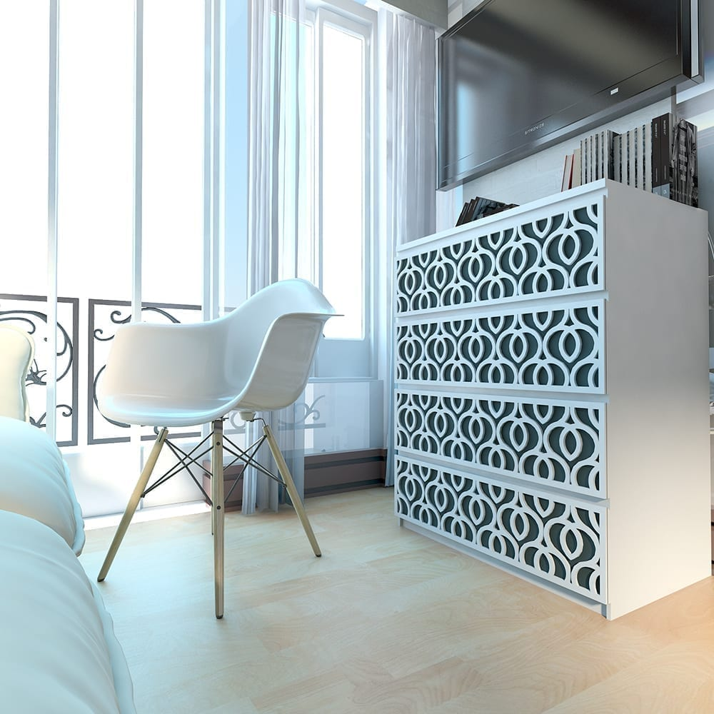 Fretwork and decor in our time 34
