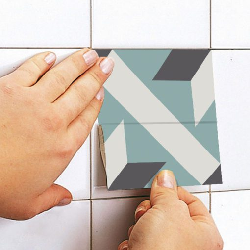 French Traditional Tile Decals - Apply