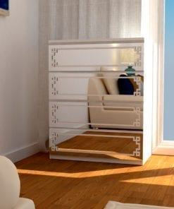 Mirror Overlay Greek Pattern