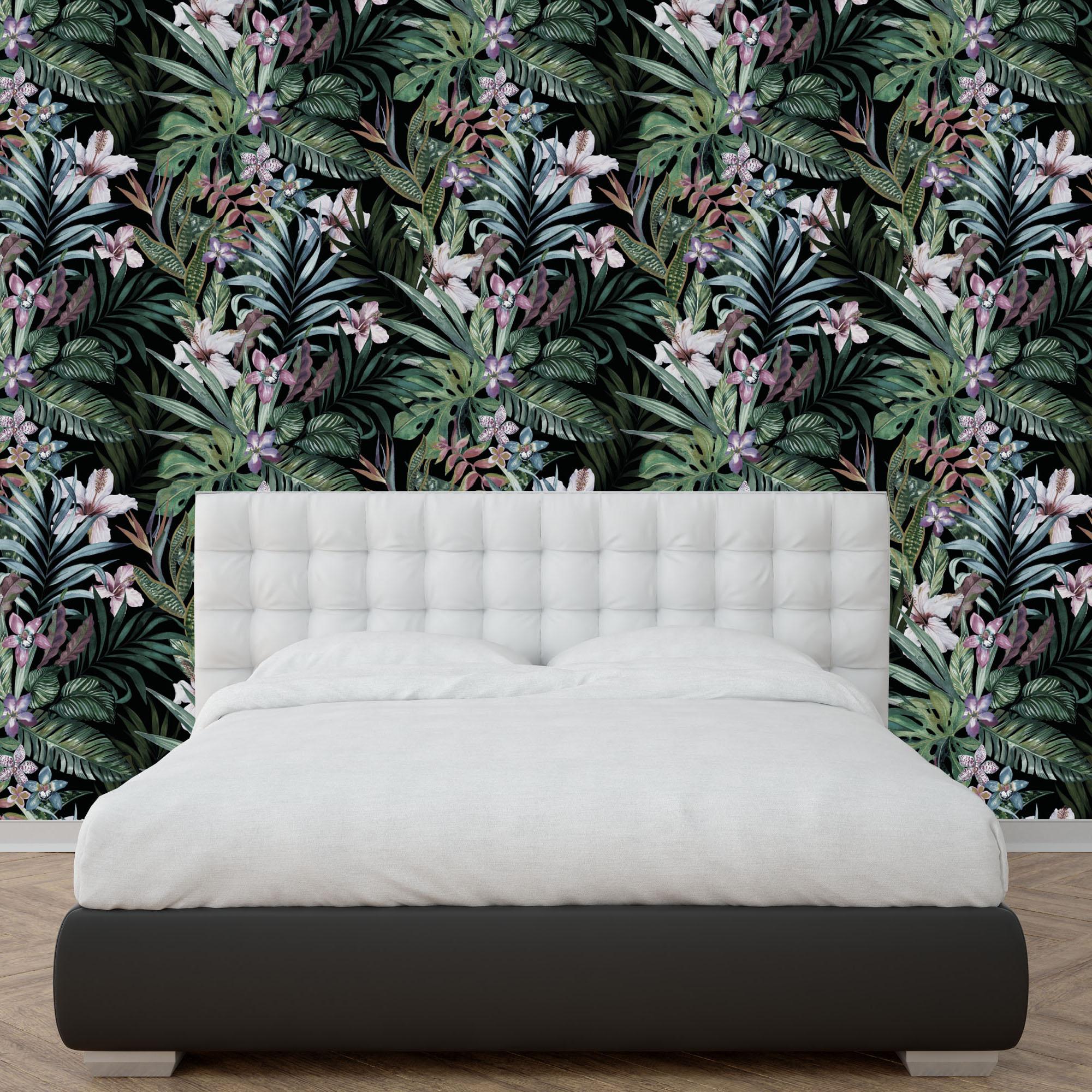 Botanical Peel and Stick Wallpaper - Moonwallstickers.com