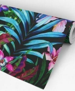Tropical Self Adhesive Fabric Roll