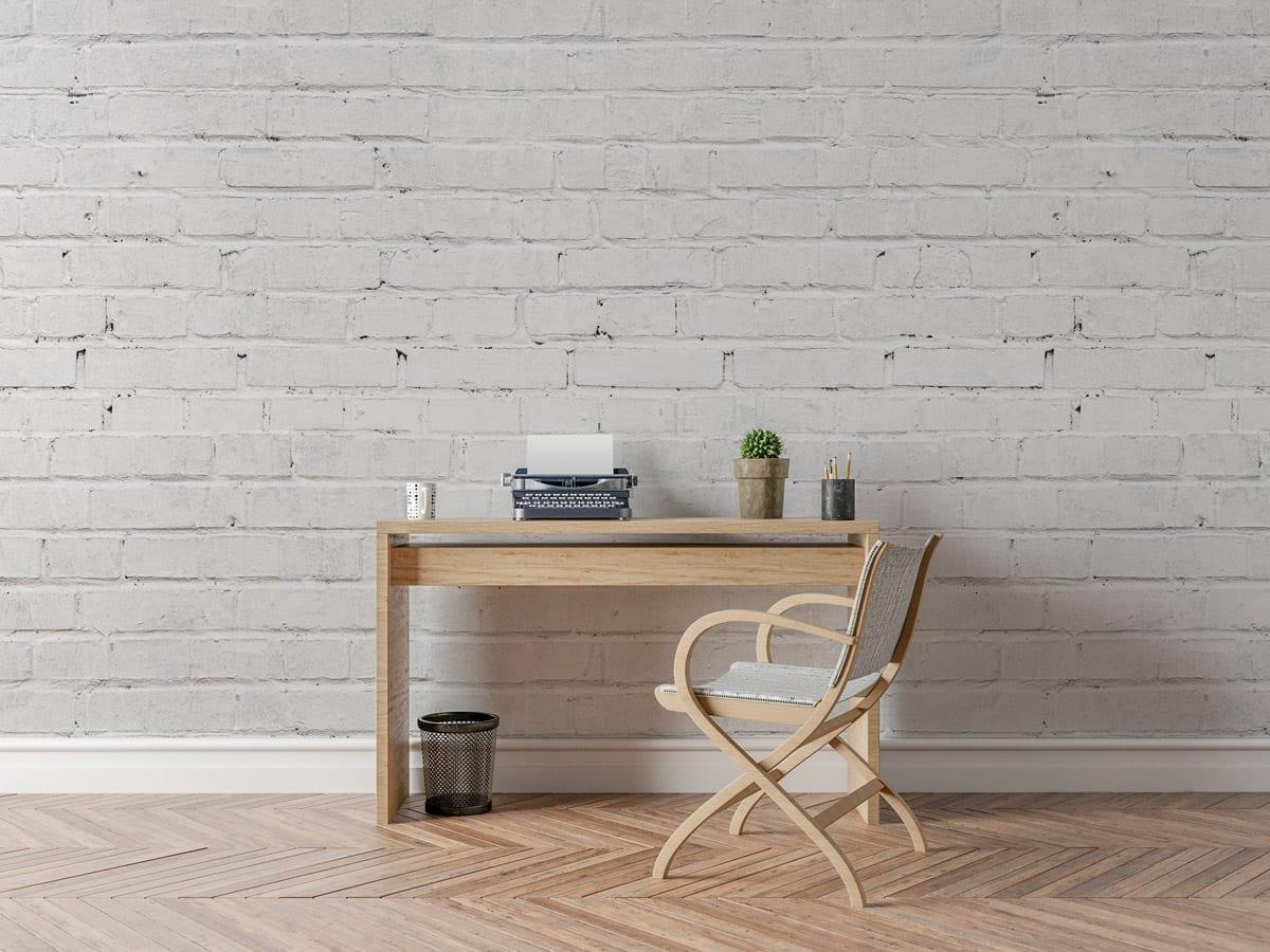 White Bricks Wallpaper Moonwallstickerscom