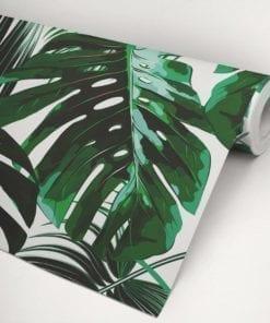 Banano Leaves Wallpaper Roll