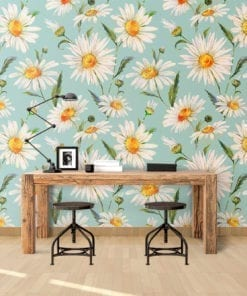 The Product Is Already In Wishlist Browse White Daisies Wallpaper