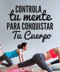 Controla Tu Mente Frases del Gym