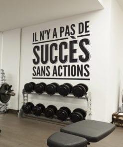 Il N´y a Pas De Succès De Sport et Gym