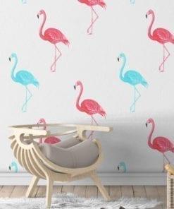 Flamingo Watercolor Wallpaper