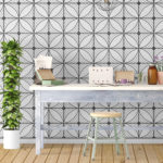 Geometric Art Deco Wallpaper