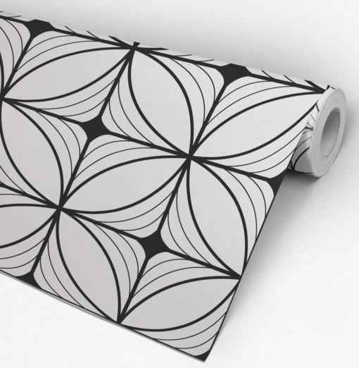 Geometric Art Deco Wallpaper Roll