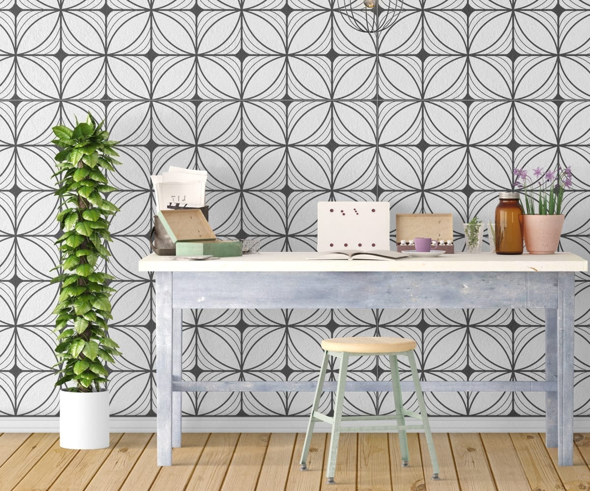 Art Deco: Geometric Art Deco Wallpaper