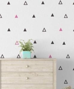 Geometric Art Triangles Wallpaper
