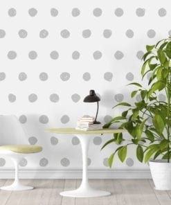 Geometric Dots Wallpaper