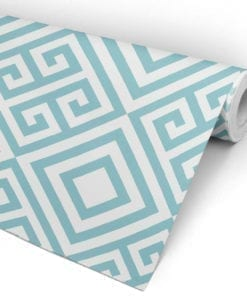 Geometric Greek Key Pattern Roll