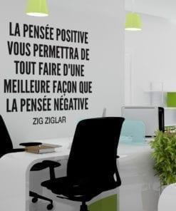 Deco Bureau Pensée Positive