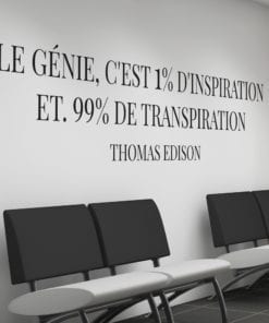 Thomas Edison Citations Deco Bureau Design