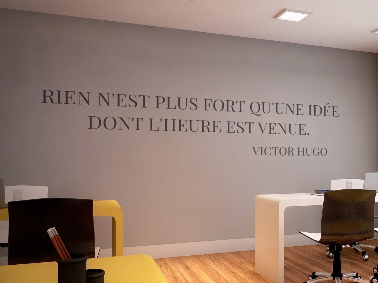 victor hugo citations d co de bureau. Black Bedroom Furniture Sets. Home Design Ideas