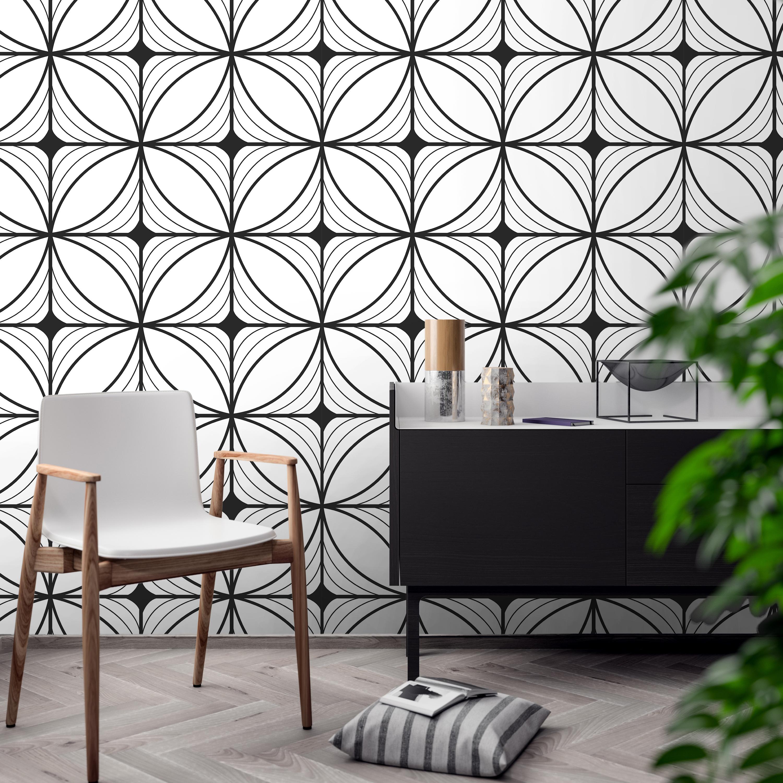 Geometric Art Deco Wallpaper - Moonwallstickers.com