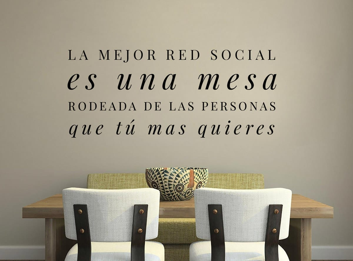 Vinilos decorativos con textos la mejor red social Vinilos decorativos oficina