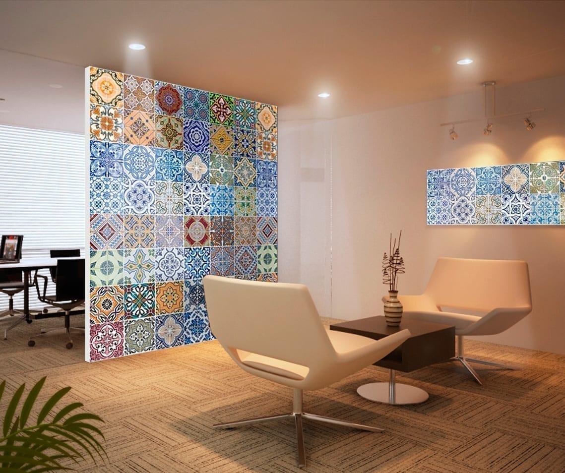 Portuguese Tiles Wallpaper Moonwallstickers Com