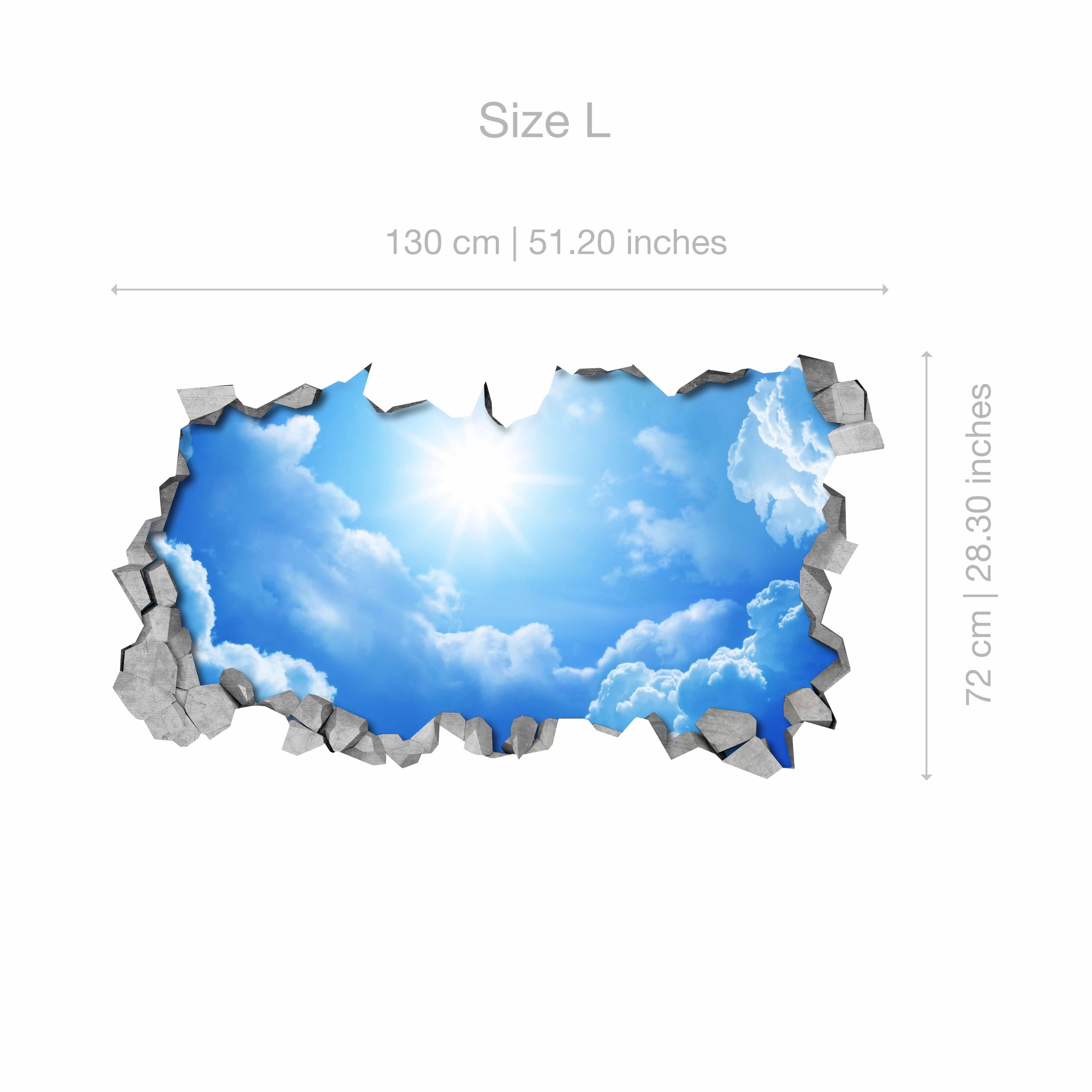 Himmel 20D Effekt Deckenabziehbilder   Moonwallstickers.com