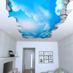 Sky 3D Effect Ceiling Decals
