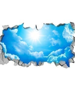 Sky 3D Effect Ceiling Decals Details